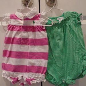 *EUC* 2pc set RL bubbles hot pink/green CUTE!!!